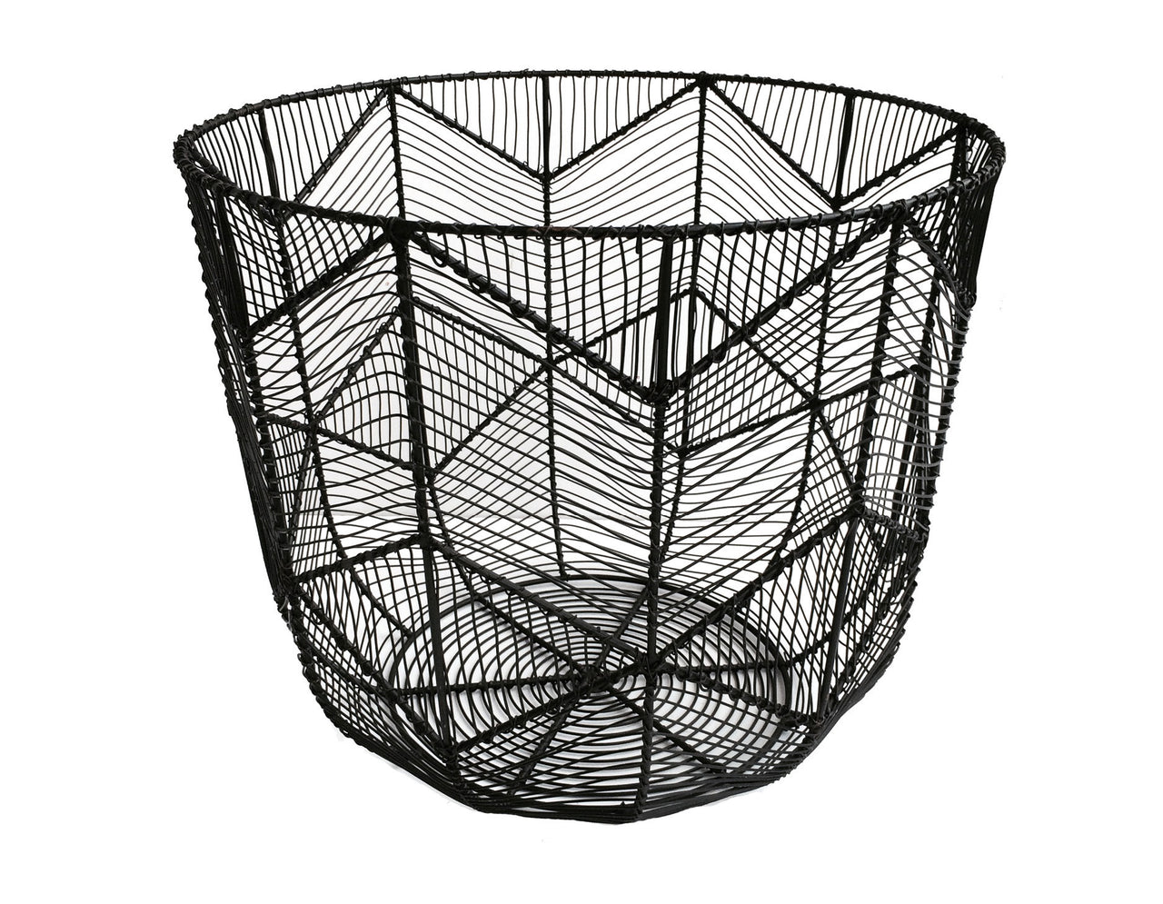 Chevron Wire basket