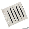 Graphic Flat Weave Cotton Runner
