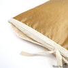 Silk Dupioni Pillow Butter 12x22
