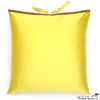 Silk Dupioni Pillow Citron 22x22