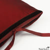 Silk Dupioni Pillow Garnet 22x22
