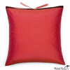 Silk Dupioni Pillow Persimmon 22x22