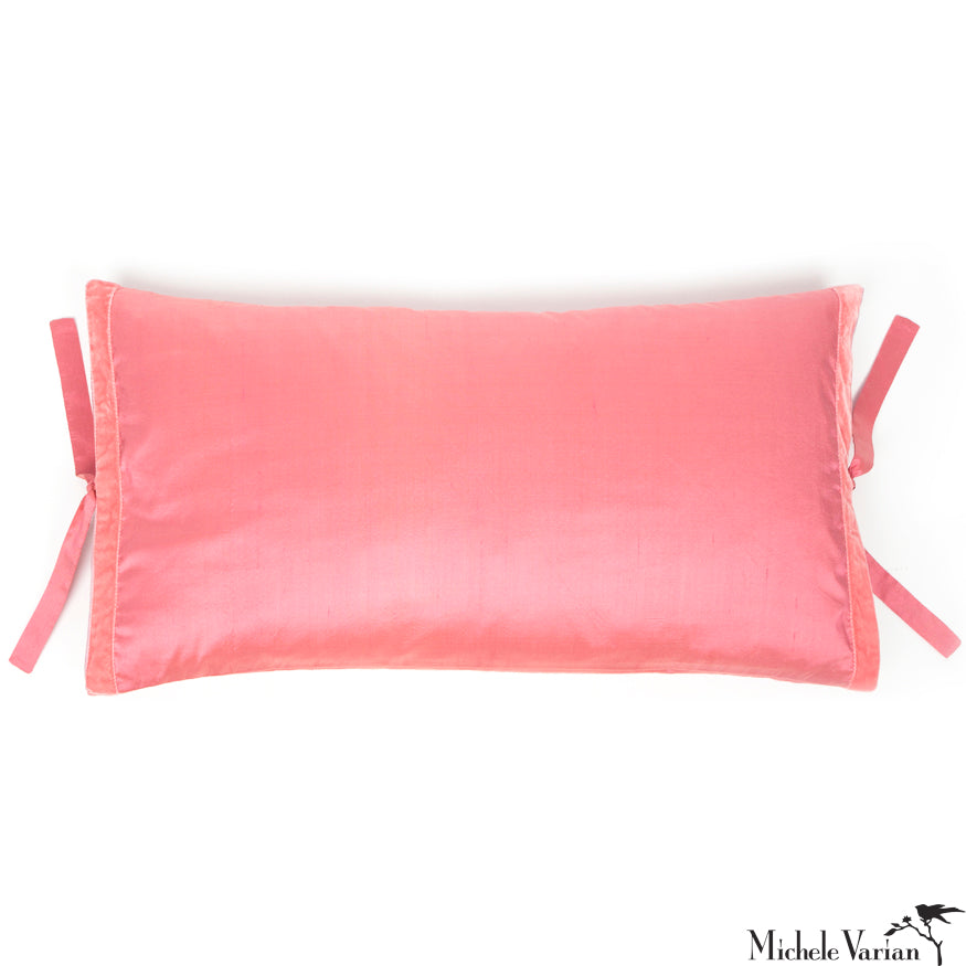 Silk Dupioni Pillow Petal 12x22