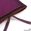 Silk Dupioni Pillow Plum 22x22