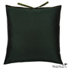 Silk Dupioni Pillow Spruce 22x22