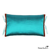 Silk Dupioni Pillow Teal 12x22
