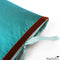 Silk Dupioni Pillow Teal 22x22