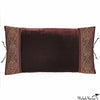Silk Velvet Pillow Cocoa 12x22