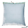 Silk Velvet Pillow Icy Blue 20x20