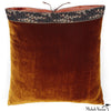 Silk Velvet Pillow Sienna 20x20