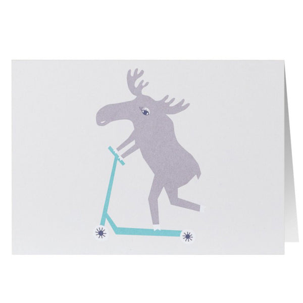 Stationery Scooter Moose