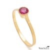 Ruby Cathedral Ring