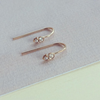 Pearl and Diamond Hook Earring