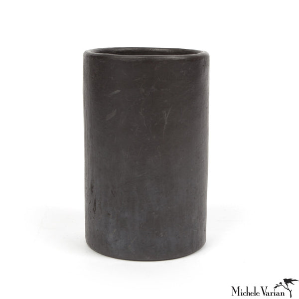 Black Serpentine Tumblers Set of 4 Large