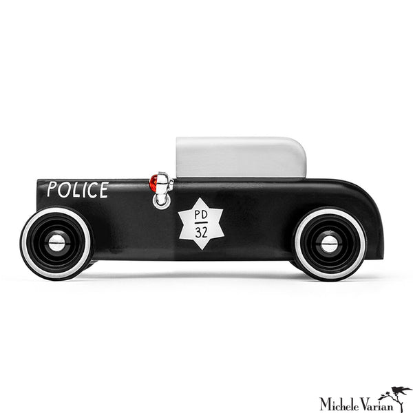 Sheriff Wooden Toy Cruiser