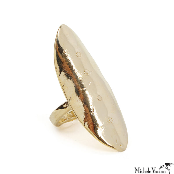 Brass Warrior Ring