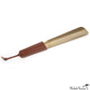 Brass and Leather Shoe Horn Tobacco