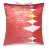 Silk Print Pillow Multi Spear Pink 20x20