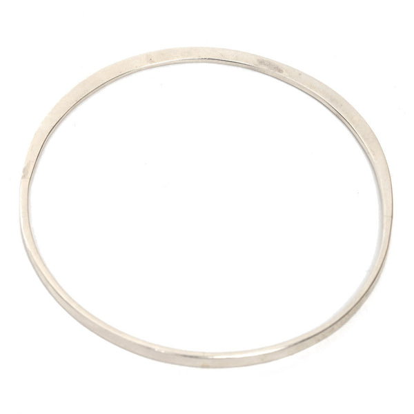 Always Here Silver Bangle