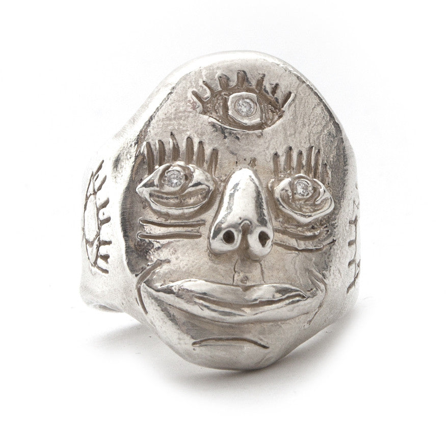 Third Eye Knuckle Duster Silver