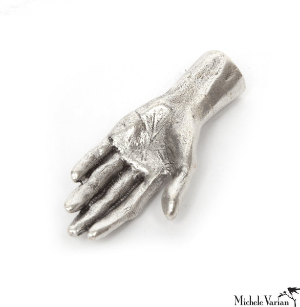 Human Hand Silver