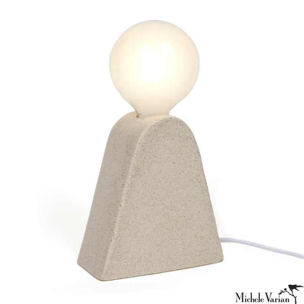 Ceramic Mountain Lamp