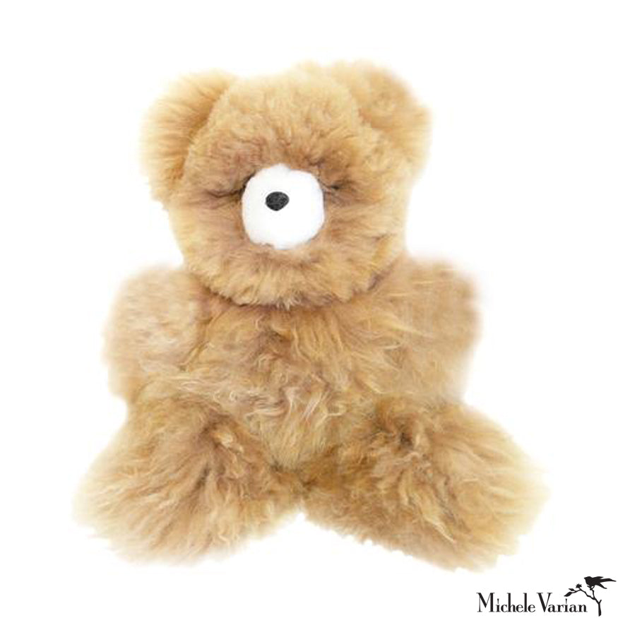 Alpaca Fur Small Bear Toy