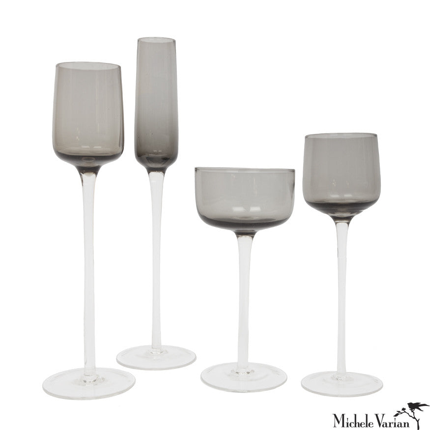 Smoke Aperitif Glasses Set of 4