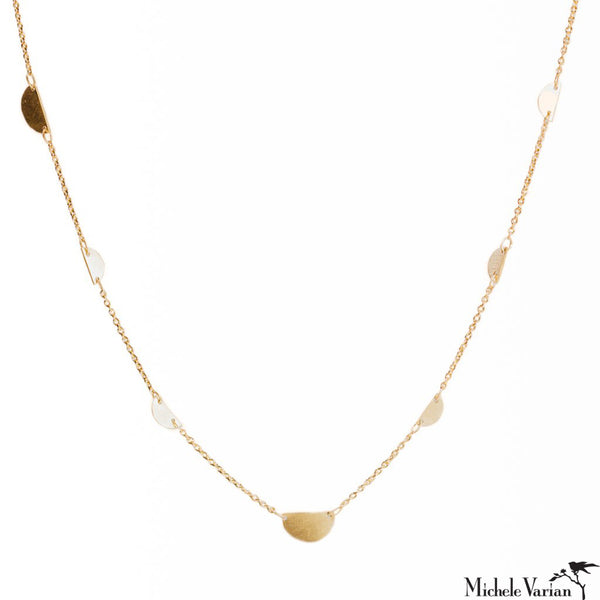 Gold Snippets Necklace