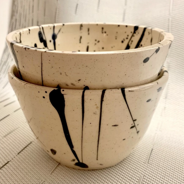 Splatter Dipping Bowl