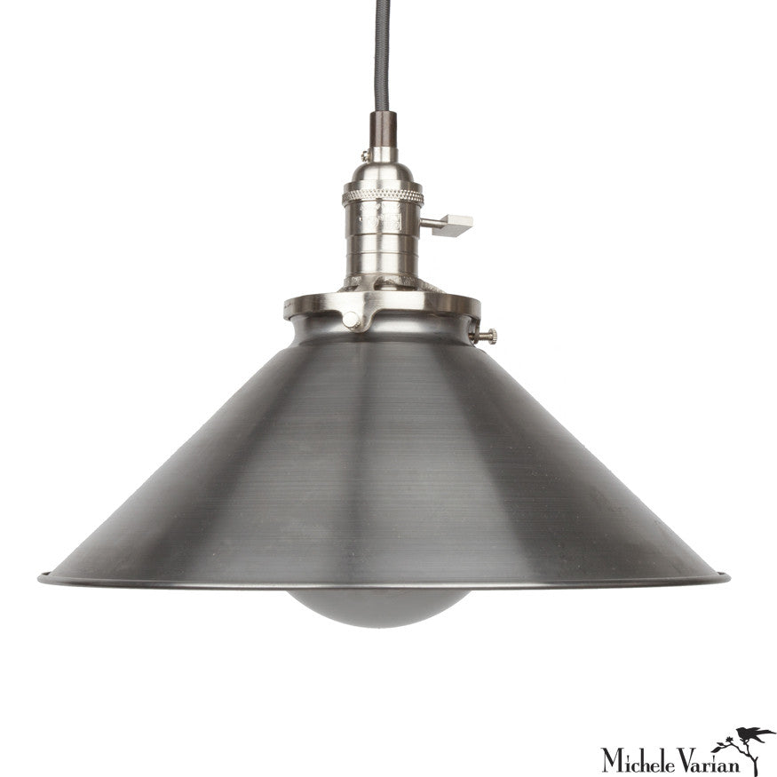 Funnel Retro Industrial Pendant Light Fixture Large 12