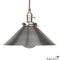 DISCONTINUED Funnel Retro Industrial Pendant Light Fixture Large 12 inch in Steel
