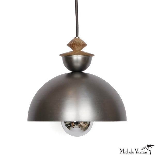 Mala Pendant Light No. 1 in Steel