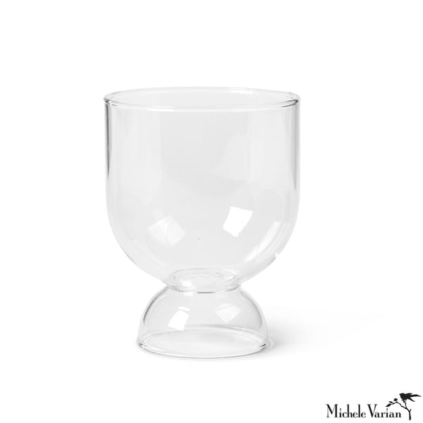 Moon Glasses Set of 2 Clear