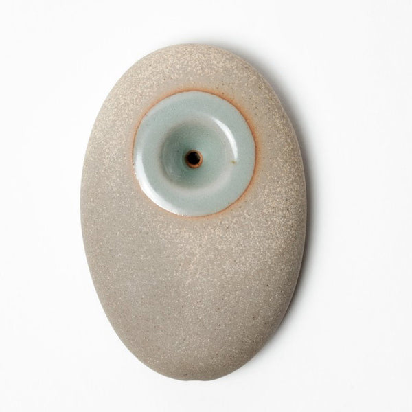 Pebble Pipe Stoneware Teal
