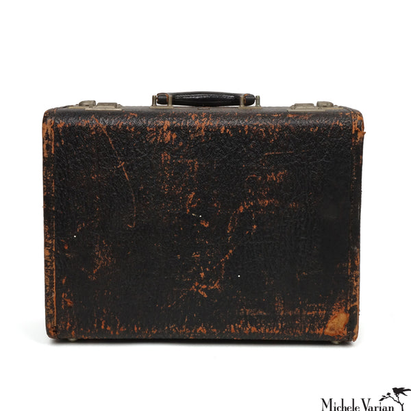 Vintage Exotic Skin Hard Shell Suitcase