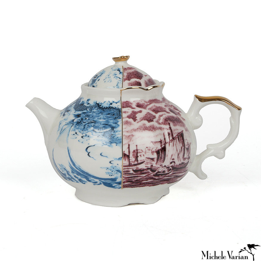 Juxtaposed Teapot