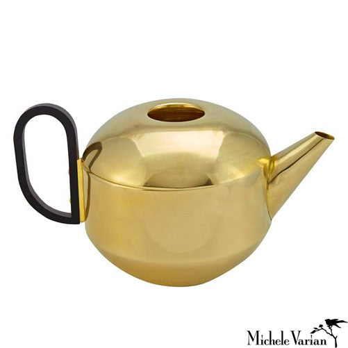 Polished Brass Teapot