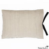 Printed Linen Pillow Thornbird Black 14x18