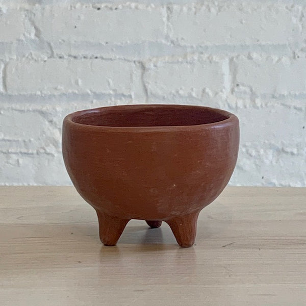 Three Footed Ceramic Bowl