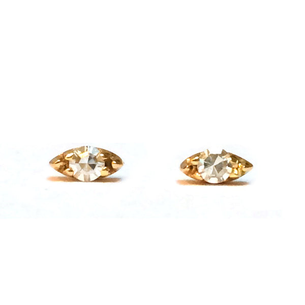 Diamond Seed Earrings