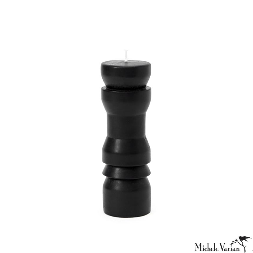 Medium Black Totem Candle