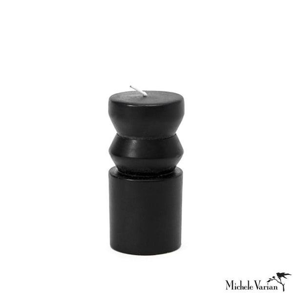 Small Black Totem Candle