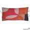 Printed Linen Pillow Transparencies Rouge 12x22