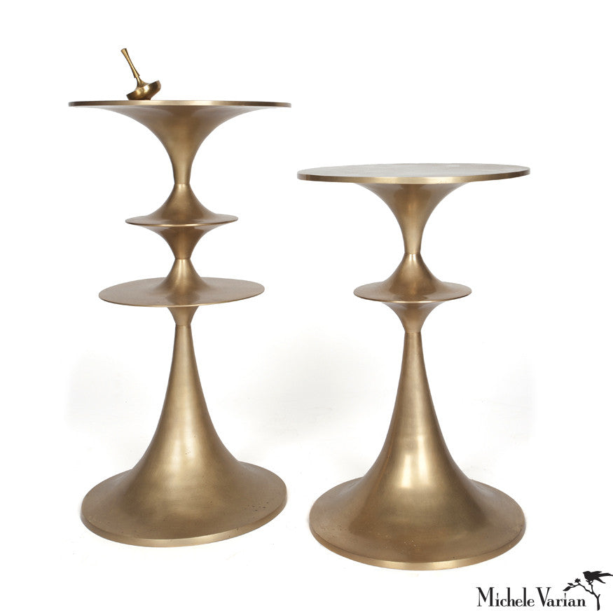 Cast Brass Umaid Occasional Table
