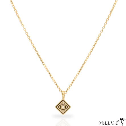 Vision Gold and Diamond Necklace
