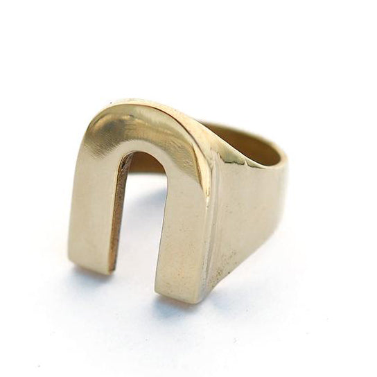 Brass Vos Ring