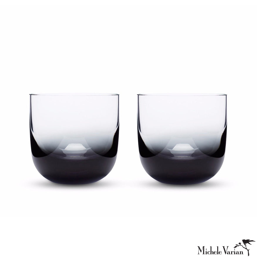 Ombre Whiskey Glasses Set of 2