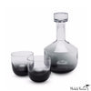 Black Ombre Whiskey Decanter