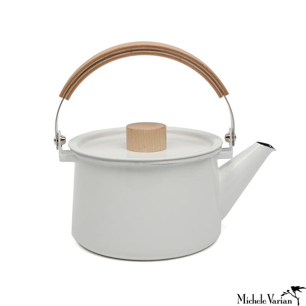 Japanese Enamel Tea Kettle